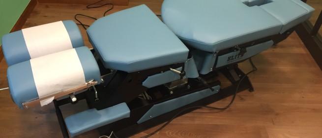 2018年1月 全新到貨 Elite Auto and Manual Flexion Table 電動升降頓壓擺腰床