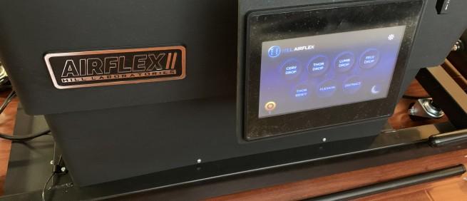 2019年5月 美國原裝進口 Hill Labs AirFlex II 電動升降氣動擺腰頓壓床